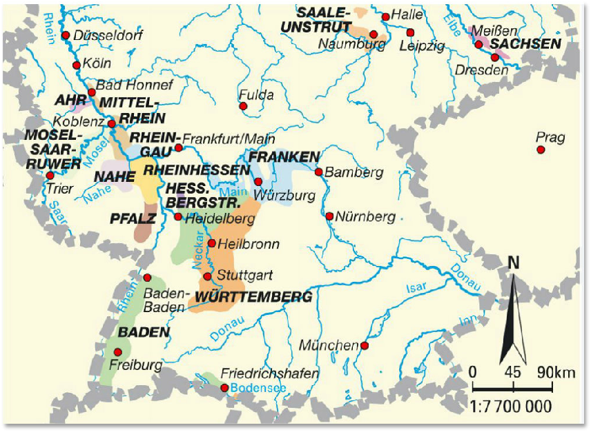 germanwineestates german wine regions